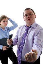 agressive supervisor